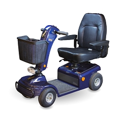Shoprider Sunnrunner 4-Wheel Mobility Scooter 300lbs -Blue